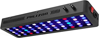 Phlizon 165W Dimmable Full Spectrum Auqarium LED Light Fish Tank LED Reef Decoration Light for Saltwater Freshwater Fish Coral Reef