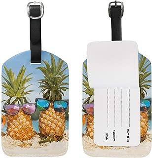 ananas en silicone Aofocy /Étiquette de bagage durable