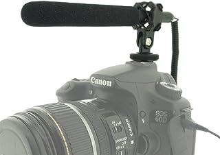 I3ePro BP-CMIC1 X-Series Mini Shotgun Condenser Microphone for Sony DCR-SX85 Camcorder Grey