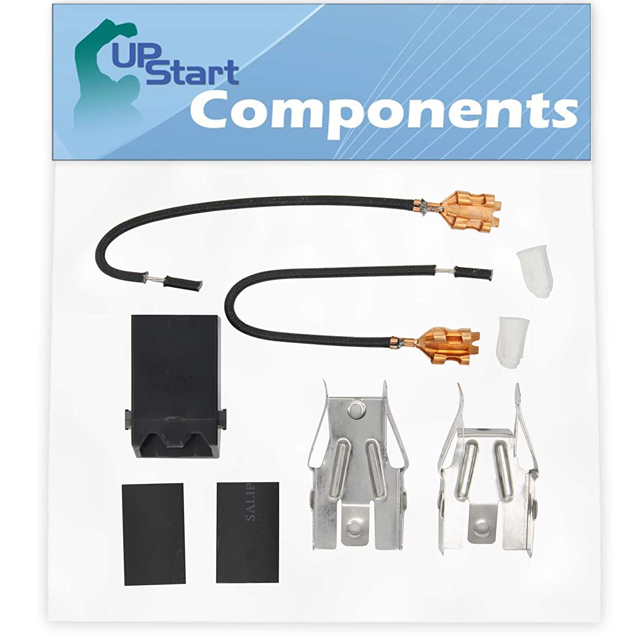330031 Top Burner Receptacle Kit Replacement for Whirlpool RE960PXVW4 Range/Cooktop/Oven - Compatible with 330031 Range Burner Receptacle Kit - UpStart Components Brand