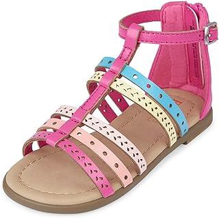 The Childrens Place Kids Tg Stud Pepper Flat Sandal