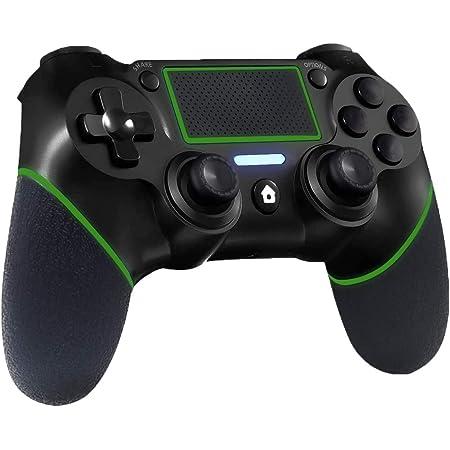Controller PS4 Wireless, RCCBOOST Bluetooth Controller Gamepad Joypad Joystick per Playstation 4/PS4 Slim/PS4 Pro con Doppia vibrazione | 6-Axis Gyro|Touch Panel| 600mah Battery | Funzione Audio