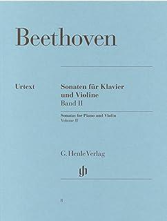 ベートーヴェン: バイオリン・ソナタ集 第2巻: Op.30/1-3, 47, 96/ヘンレ社/原典版/ピアノ伴奏付ソロ楽譜
