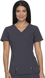 Dickies womens V-Neck Top Medical Scrubs