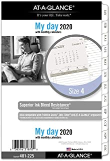 AT-A-GLANCE 2020 Refill, Day Runner, 5-1/2