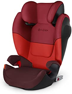 Cybex Silver Solution M-fix SL 517001373, autostoel groep 2/3 (15-36 kg), met Isofix, rood (Rumba Red)