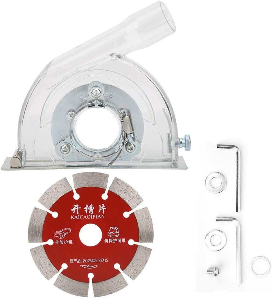 At the price of surprise B-110A Angle Grinding Cover Dust Disc Transparent Slotted Superlatite