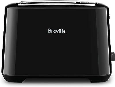 Breville 2 Slice Toasters, Black Sesame, BTA360BKS