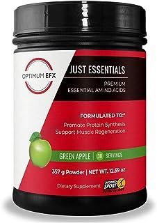 OPTIMUM EFX Just Essentials, Premium Essential Amino Acids, Full Spectrum EAAs to Build, Repair and Retain ...
