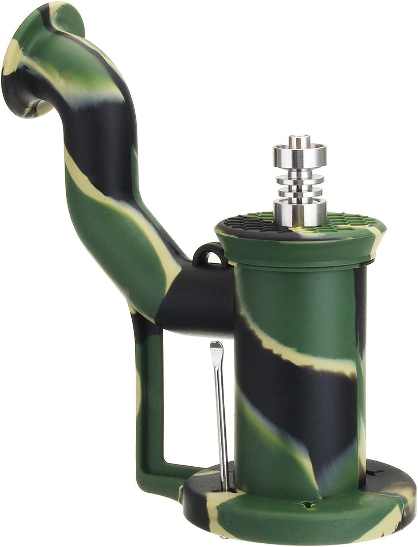 Wuchance Tragbare Silikon-Titan-Nagel-Öl-Trommel-Anlage-Wasser-Tabak-Rohr-Mode-Löffel Silikon-Titan-Nagel-Öl-Trommel-Anlage-Wasser-Tabak-Rohr-Mode-Löffel Silikon-Titan-Nagel-Öl-Trommel-Anlage-Wasser-Tabak-Rohr-Mode-Löffel B07NPNQPYJ | Meistverkaufte weltweit  0bee67