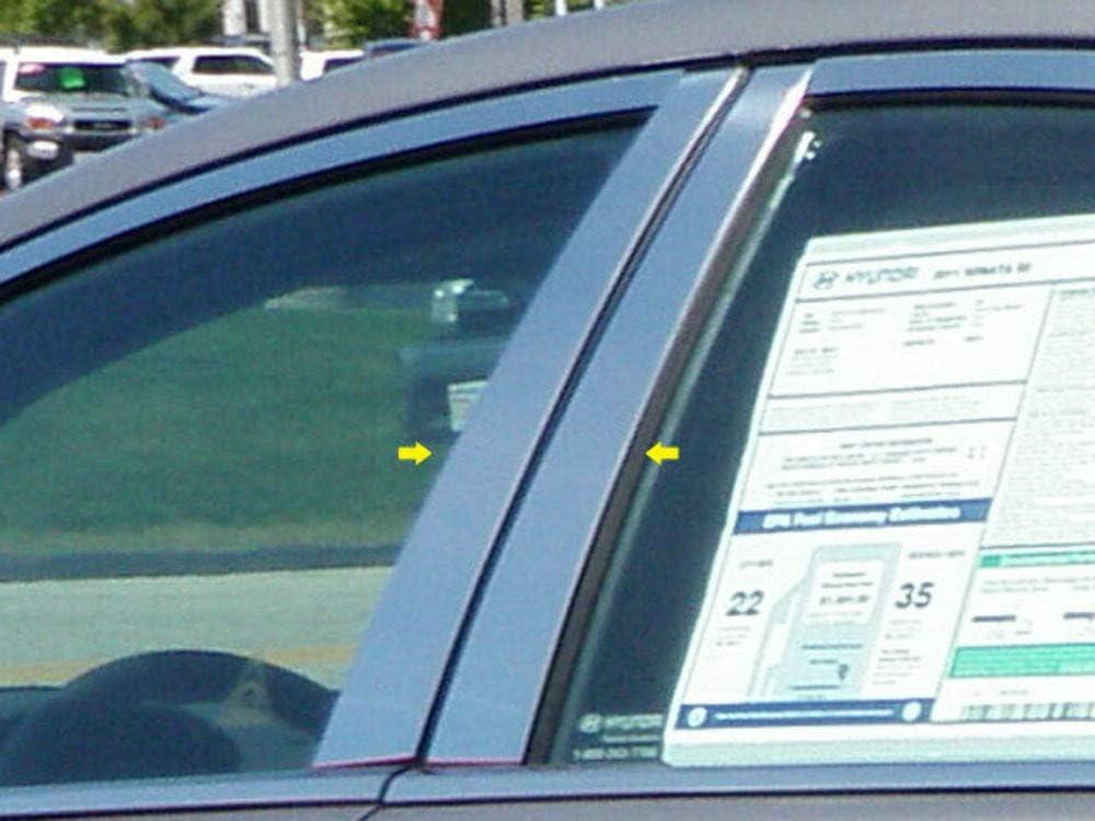 QAA fits 2011-2014 Hyundai Sonata 4 Post Stainless Pillar Selling sale rankings Piece