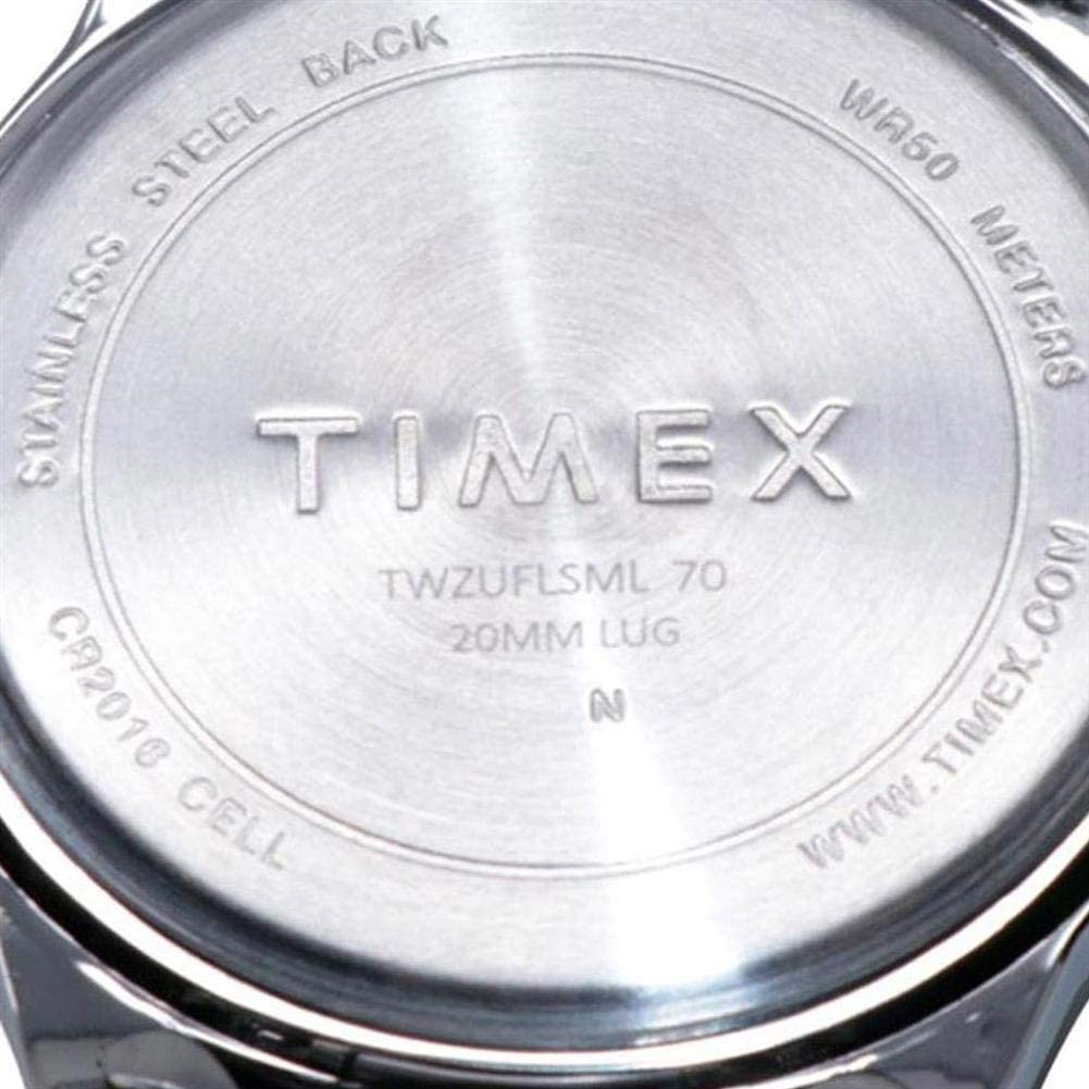 Timex Tribute Mens Citation 42mm Quartz Watch with Stainless Steel Strap