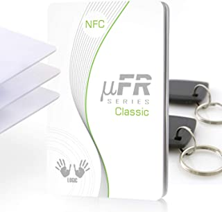 ETEKJOY ACR122U NFC RFID 13.56MHz Contactless Smart Card Reader Writer w//USB Cable SDK 5X Writable IC Card