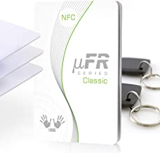 D-Logic uFR Classic CS - RFID, NFC Reader Writer, 13.56MHz Contactless Smart Card Programmer for Windows, Linux, Mac OS X, Raspberry Pi, Beaglebone + Free SDK and 5 Tags.