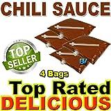 Chili Sauce for dispenser machine (106 oz, 4 bags) Gold Medal El Nacho Grande