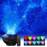 Proiettore a Luce Stellare,Elekin Proiettore Stellato Soffitto, Proiettore LED a Cielo Stellato con Altoparlante Bluetooth,Timer e Telecomando per Bambini Comodino/Regalo/Decorazioni