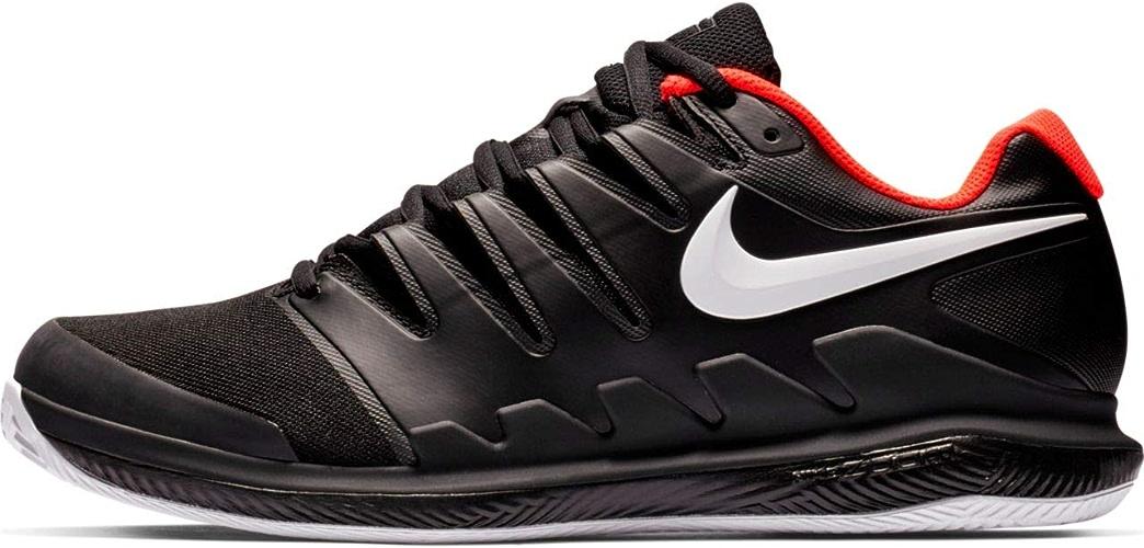 Nike Air Zoom Vapor X Cly, Chaussures de Tennis Homme, MultiCouleure (noir blanc Bright Crimson 016), 46 EU