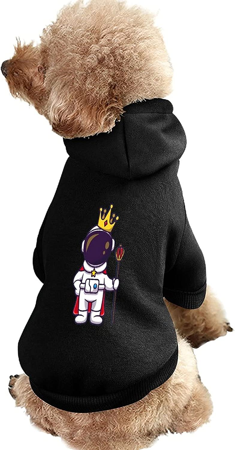 Hooded Dog Beauty products Cat Clothes Cute Ranking TOP12 Astronaut Pe King with Crown Cartoon