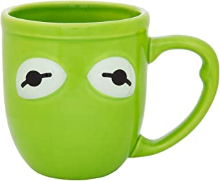 Disney The Muppets Kermit The Frog 16 Ounce Ceramic Mug, Green