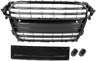 AUDI NUOVA A4 B6 2001-05 Paraurti anteriore luce antinebbia grill Sinistro N//S Nero
