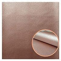 ファブリックメーター PUレザーファブリック20x15cmソフトフェイクレザー用縫製衣服バッグ服の靴ソファDIYハンドメイドバッグ素材ソリッドカラー (Color : 17)