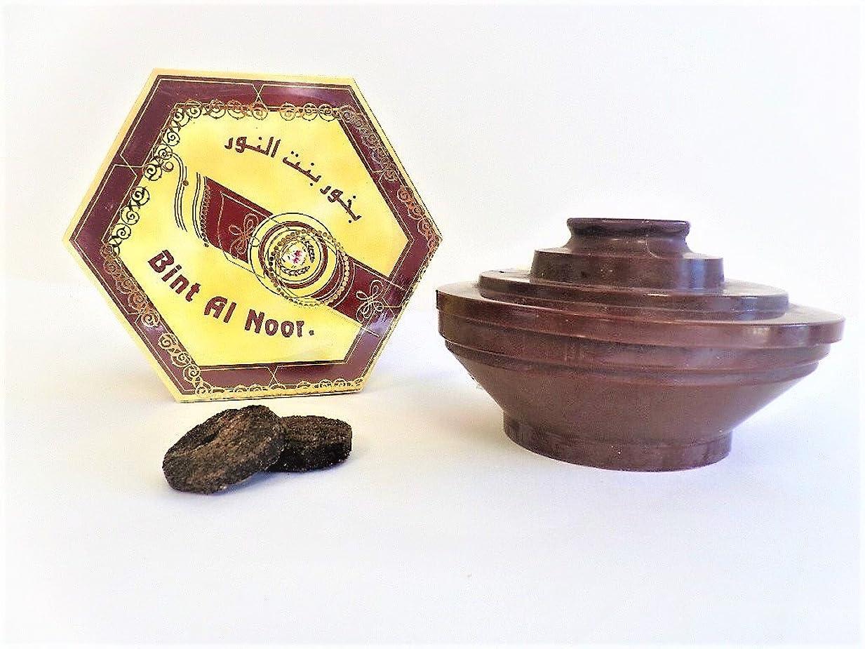 木材首相特徴づけるBakhoor Bent al Anoor、Arabianホームフレグランスお香、正味重量100?gm。?–????? ??? ?????