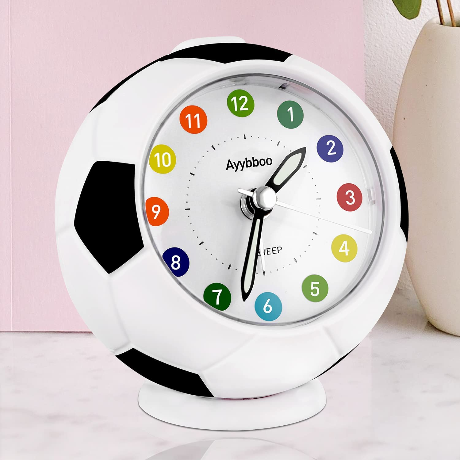 Analog Alarm Clock for Kids Ranking TOP4 Boys Non Football Lowest price challenge Girls Cute Ticking