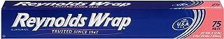 Reynolds Wrap Standard Aluminum Foil, 75 Square Ft (.2pack-75 ft)
