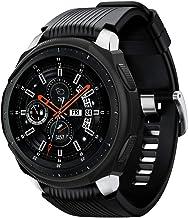 Spigen Liquid Air Armor Compatible con Samsung Galaxy Watch Funda 46mm (2018) /Samsung Gear S3 Frontier Funda (2017) - Negro