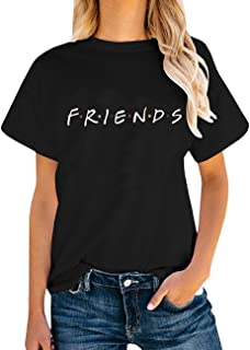 AEURPLT Womens Funny Cute Graphic Summer Casual T Shirt Tops Tees Gifts