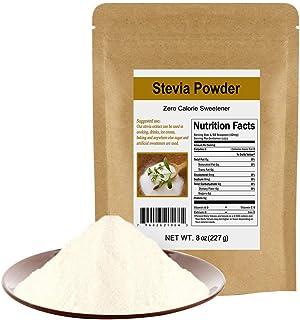 CCnature Stevia Powder Extract Natural Sweetener Zero Calorie Sugar Substitute 8oz