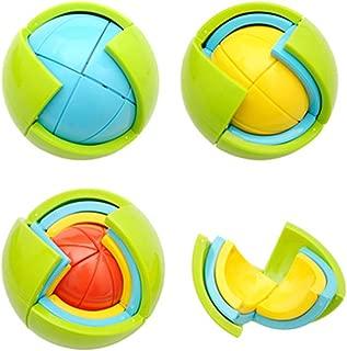 Eden Fghk Puzzle Ball 3D Three-dimensional Assembled Children's Educational Toys Intelligence Development Assembly Ball