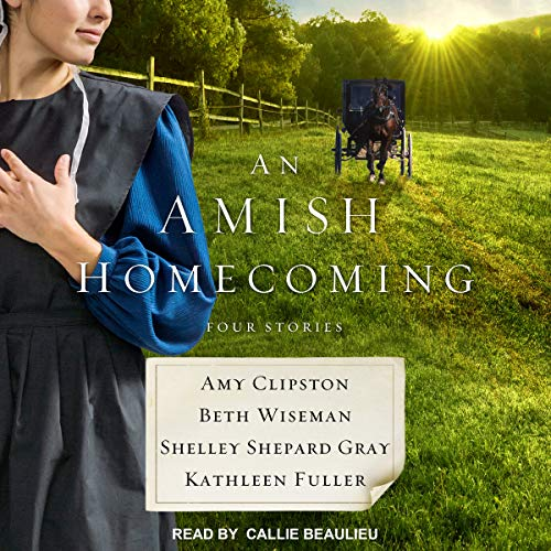 An Amish Homecoming audiobook cover art