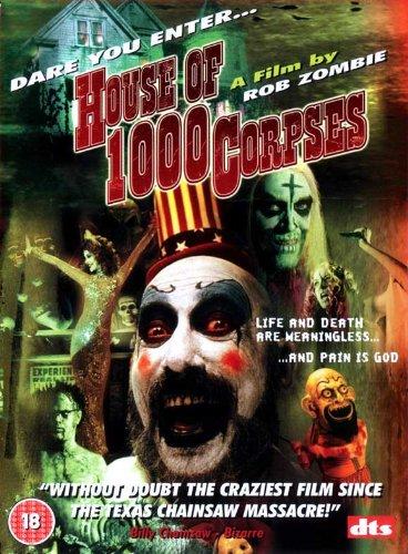 House of 1000 Corpses Poster B 27x40 Sid Haig Bill Moseley Sheri Moon