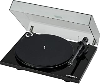 Pro-Ject Essential III Turntable with Built in Phono Preamplifier - Black