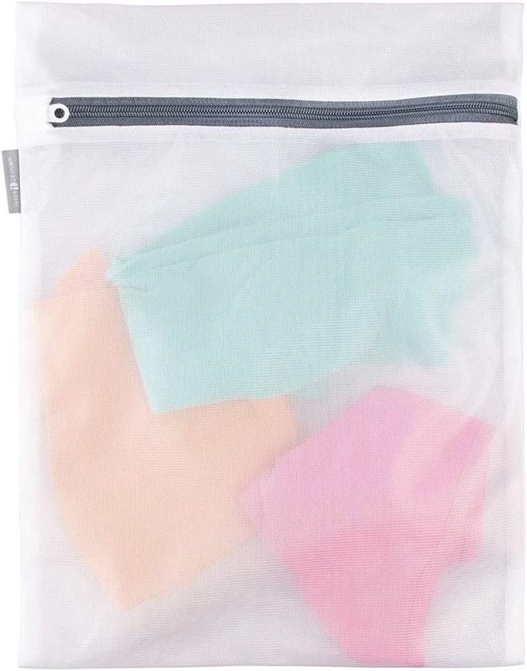 Armilum Home Laundry Mesh Bag,2 Pack Laundry Mesh Net Washing Bag Clothes Bra Lingerie Socks Underwear Washing Basket Storage Bag