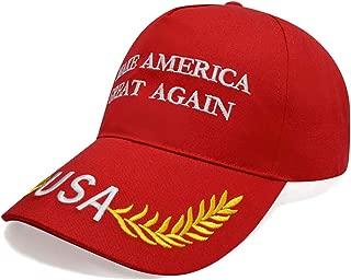 Make America Great Again Donald Trump Slogan Embroidered USA Baseball Caps MAGA Cap