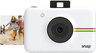 Polaroid Snap - Cámara digital instantánea tecnología de impresión Zink Zero Ink 10 Mp Bluetooth micro SD fotos de 5 x 7.6 cm blanco