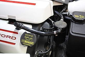 JLT Performance Oil Separator 3.0 Black 11-17 Mustang GT 11-14 F150 5.0 Passenger side