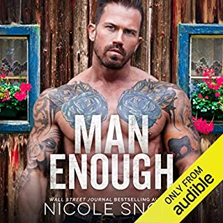 Man Enough audiobook cover art