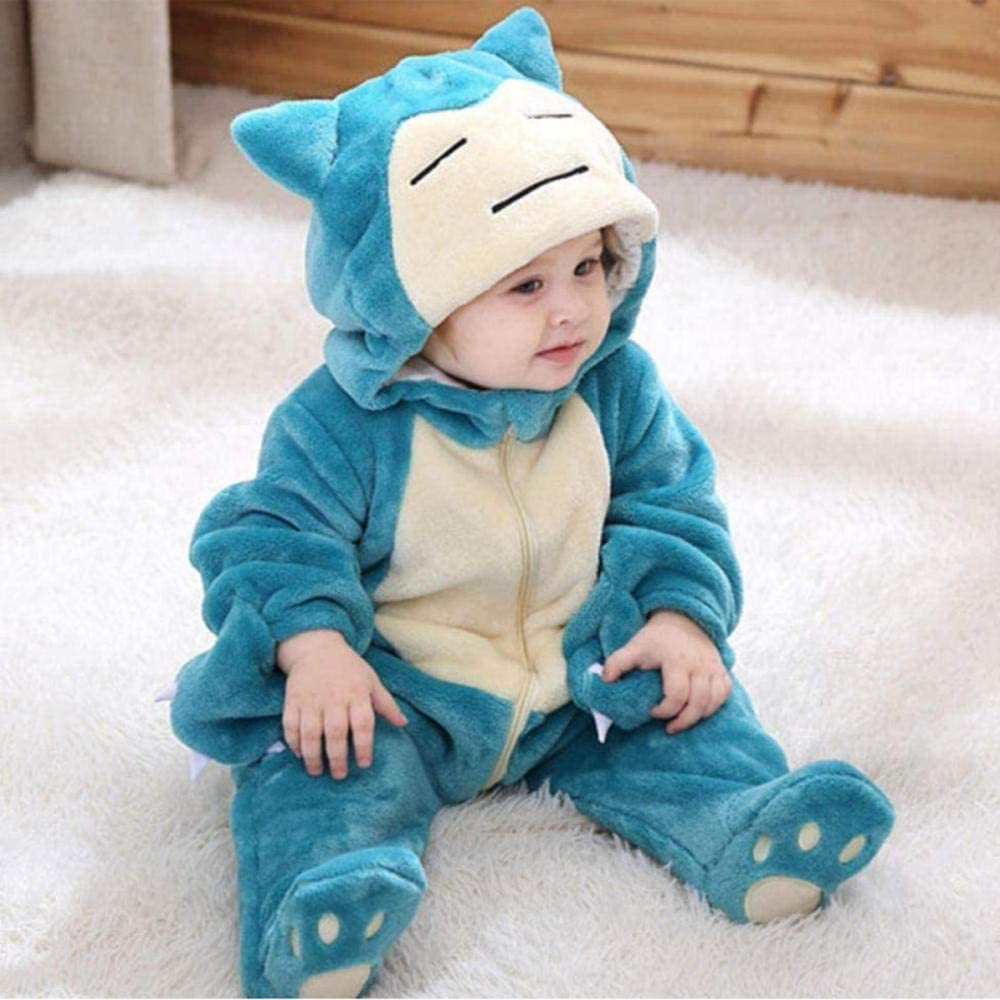 LLCA Very popular Snorlax Onesie Max 55% OFF Baby Romper Infant 0-3 Bo Clothes Cute Y New