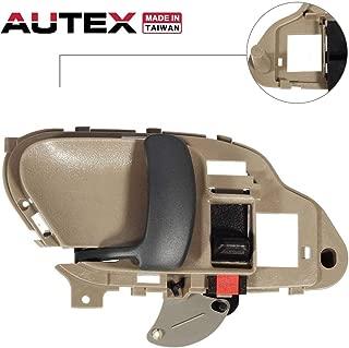AUTEX 77570 Interior Front/Rear Left Door Handle Driver Side Compatible with Chevrolet,GMC C/K 1500 2500 3500 Pickup Suburban,Chevy Tahoe,GMC Yukon 1995 1996 1997 1998 1999 2000 2001 2002 GM1352152