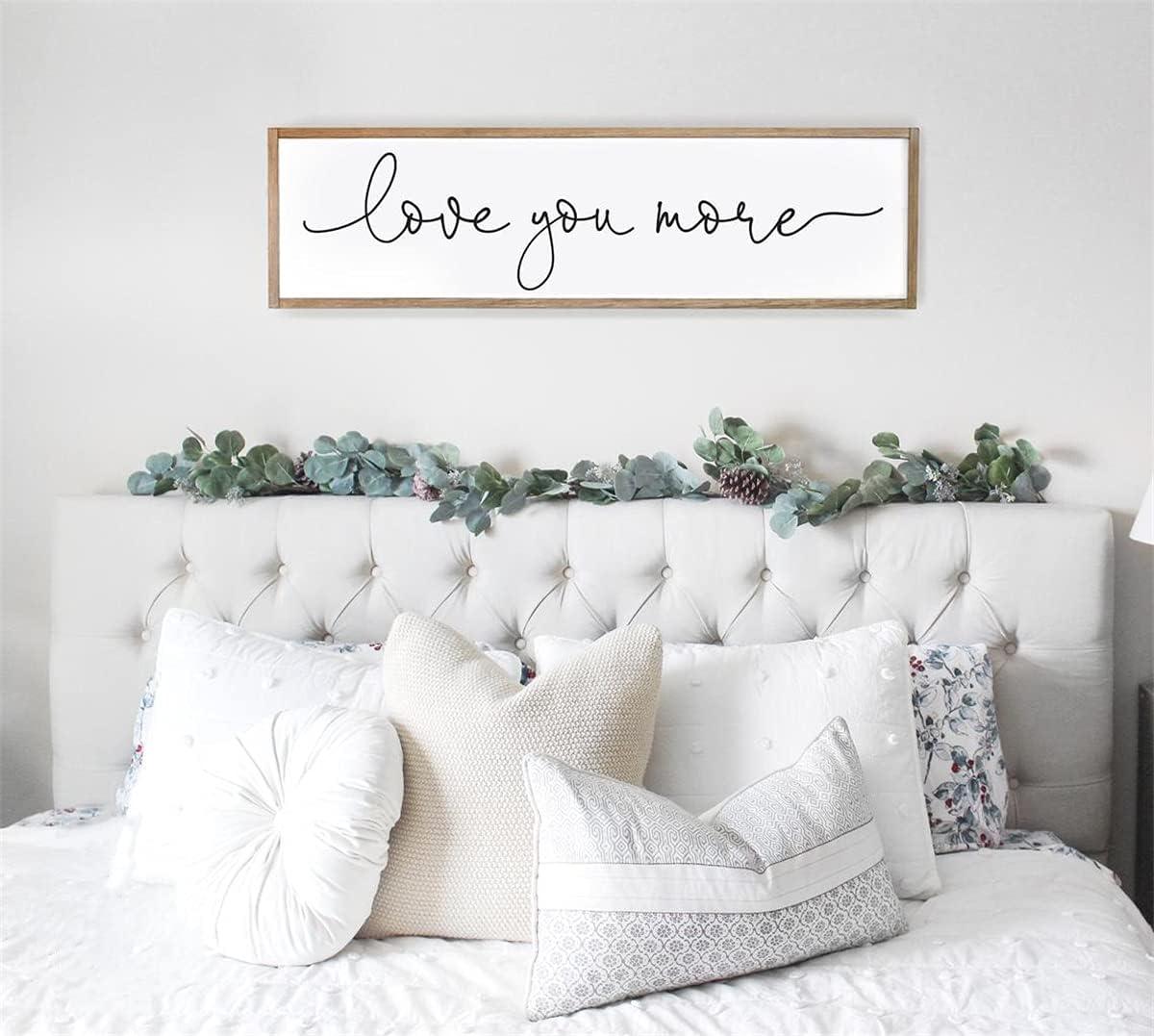 SALENEW very popular Super popular specialty store Bedroom Wall Decor Love You De Art More Master