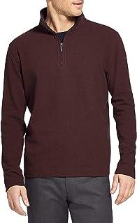Van Heusen Men's Flex Ottoman 1/4 Zip Sweater