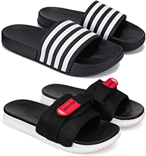 Zenwear Combo Pack of 2 Flipflops & Slippers for Men for Men