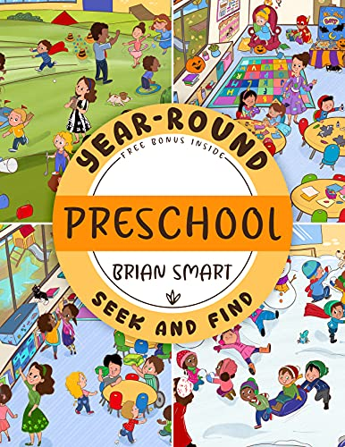 Year-Round Preschool: seek and find hidden pictures activity book for kids ages 3-5 (preschoolers, toddlers)