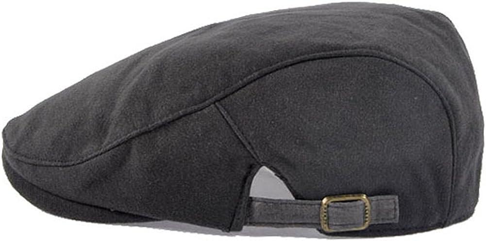 LOCOMO Plain Color Quantity limited Max 65% OFF Cotton Newsboy Hat Cap Beret FFH038