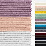 Lumaland Premium 24er Set Seiftücher Handtücher Frottee 30 x 30 cm aus 100% Baumwolle 420 g/m²...