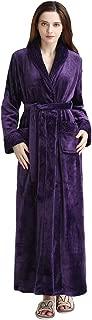 womens velvet dressing gown
