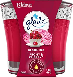 Glade Candle, Blooming Peony & Cherry, 96g